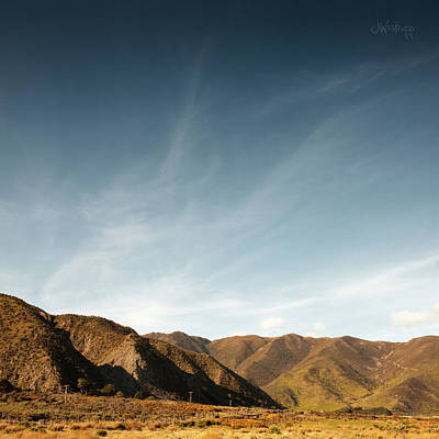 Photograph - Wainui Hills Squared by Joseph Westrupp