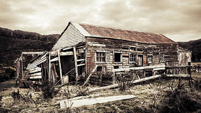 Photograph - Wainui Ruins by Joseph Westrupp