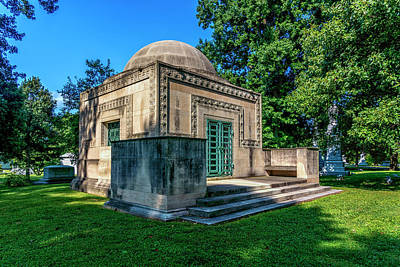 Photograph - Wainwright Tomb At Bellefontaine Cemetery In St. Louis 7r2_dsc1071_16-09-06 by Greg Kluempers