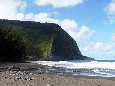 Photograph - Waipio Beach 1 by Jason Chu