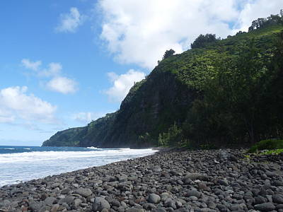 Photograph - Waipio Beach 2 by Jason Chu