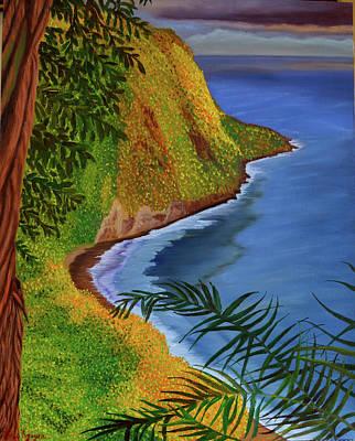 Painting - Waipio by Thu Nguyen