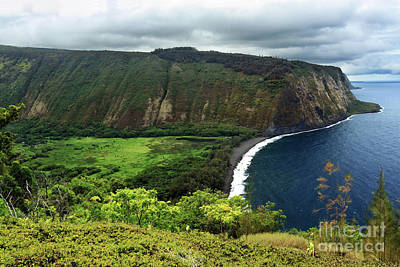 Waipio Valley Art Print
