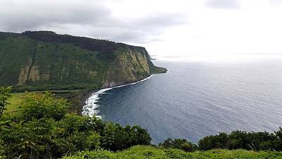 Photograph - Waipio Valley by Lucas Boyd