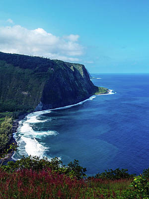 Photograph - Waipio Valley by Randy Sylvia