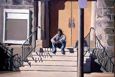 Painting - Waiting And Resting by David Buttram
