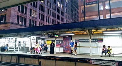 Photograph - Waiting For The Train 2 by Rosanne Licciardi
