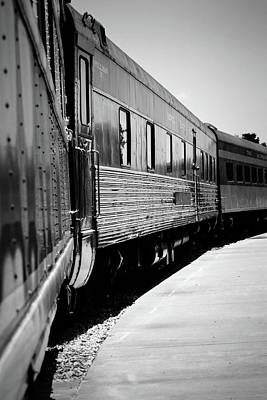 Photograph - Waiting At The Station by Nadalyn Larsen
