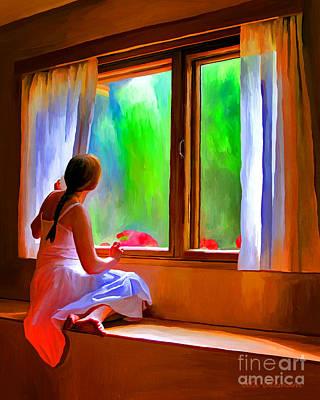 Painting - Waiting  by Ata Alishahi