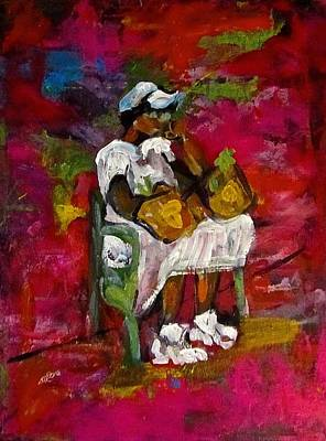 Painting - Waiting by Barbara O'Toole