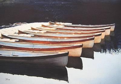 Painting - Waiting by Barbara Pease