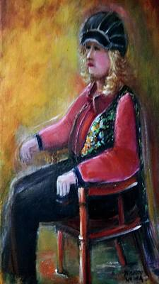 Painting - Waiting by Bernadette Krupa