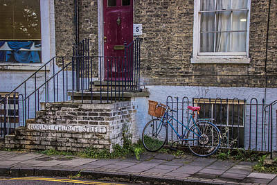 Photograph - Waiting Bike Hdr by David Warrington