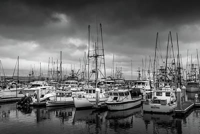 Photograph - Waiting Boats by Constance Reid