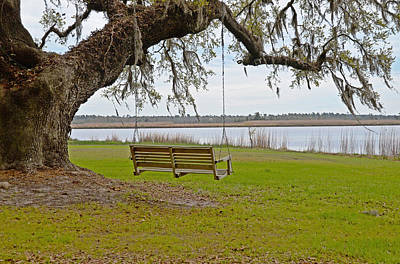 Photograph - Waiting By The River by Linda Brown