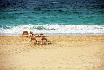 Caribe Photograph - Waiting By The Shore by John Rizzuto