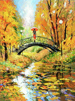 Painting - Waiting by Dmitry Spiros