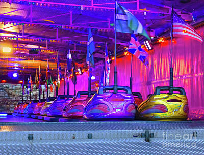 Photograph - Waiting Dodgems by Terri Waters