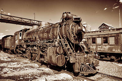 Photograph - Waiting Engine by Paul W Faust -  Impressions of Light