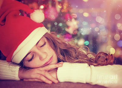 Photograph - Waiting For A Christmas Gifts by Anna Om