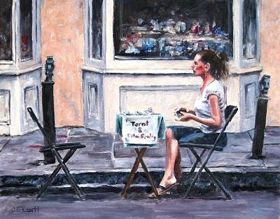 Painting - Waiting For A Customer by Connie Schaertl