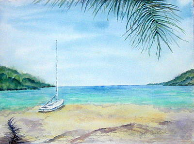 Painting - Waiting For A Sailor by Diane Kirk