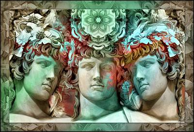 Feelings Photograph - Waiting For Alexander - Dreaming With Antinous by Daniel Arrhakis