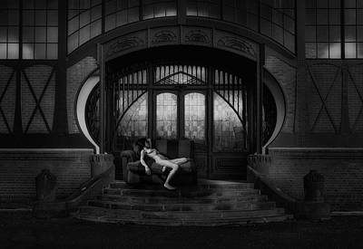 Shadows Photograph - Waiting For Amor by Holger Droste