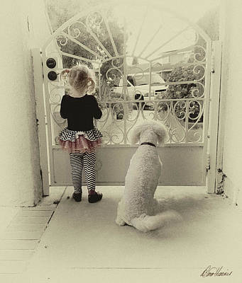 Photograph - Waiting For Dad by Diana Haronis