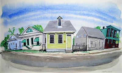 Waiting For Katrina Art Print by Tom Hefko