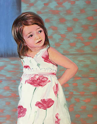 Painting - Waiting For Mommy by Susan Brooks