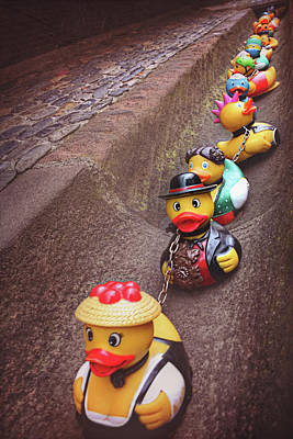Rubber Duck Photograph - Waiting For Rain  by Carol Japp