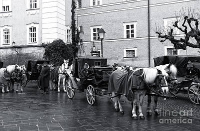 Photograph - Waiting For Riders In Salzburg by John Rizzuto