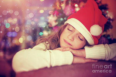 Photograph - Waiting For Santa Claus by Anna Om