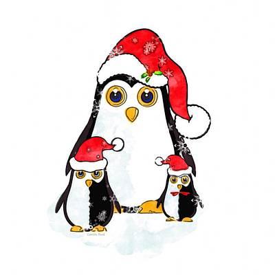 Mixed Media - Waiting For Santa by Gabriella Weninger - David