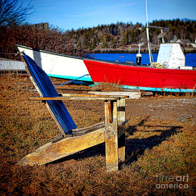 Waiting For Spring In Maine Art Print