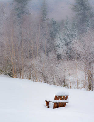 Mt. Washington Photograph - Waiting For Spring by Joseph Smith
