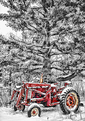 Country Scene Photograph - Waiting For Spring by Paul Freidlund