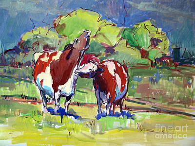 Painting - Waiting For Spring by Sandra Smith-Dugan
