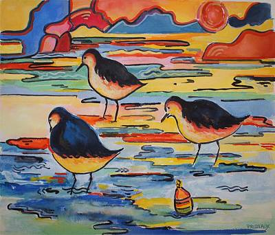 Painting - Waiting For Supper by Sue Prideaux