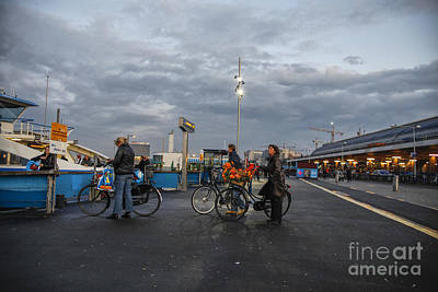 Photograph - Waiting For The Ferry by Patricia Hofmeester