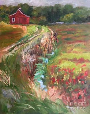 Painting - Waiting For The Harvest by Lynne Schulte
