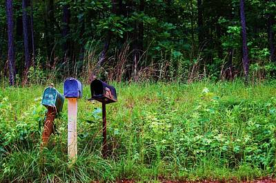 Waiting For The Mail Art Print by Beverly Hammond