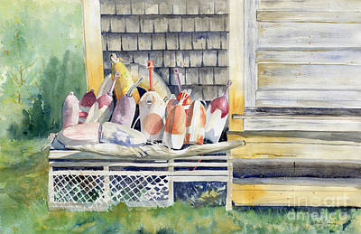 Painting - Waiting For The Season by Melly Terpening