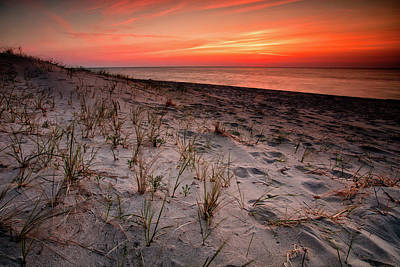 Photograph - Waiting For The Sun by CA Johnson