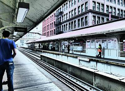 Photograph - Waiting For The Train 4 by Rosanne Licciardi