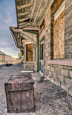 Photograph - Waiting For The Train by Gaelyn Olmsted