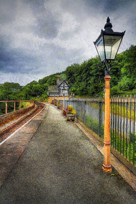 Photograph - Waiting For The Train by Ian Mitchell
