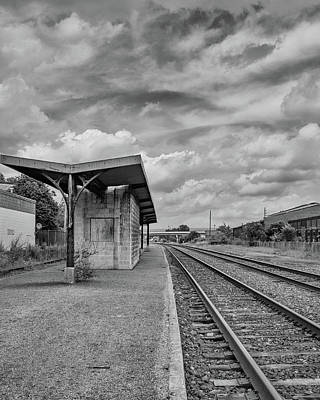 Photograph - Waiting For The Train by Lindy Grasser