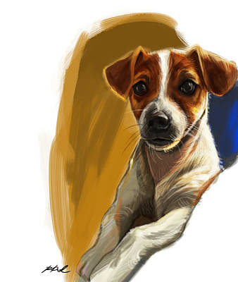 Petcare Painting - Waiting For You by Kamal Anjelo